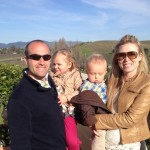 Family in Napa Valley